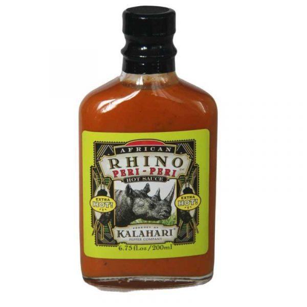 African Rhino Xtra Hot Peri-Peri Pepper Sauce