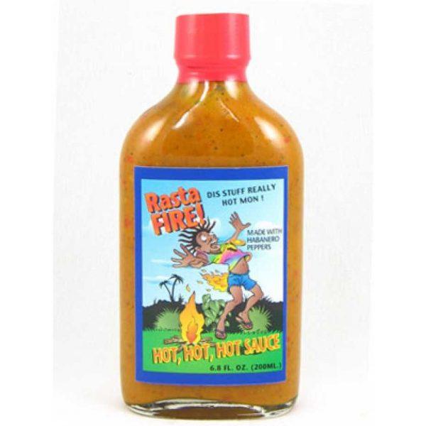 Rasta Fire! Hot, Hot, Hot, Hot Sauce