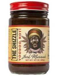 The Shizzle Voo Doo Hot Jerk Sauce