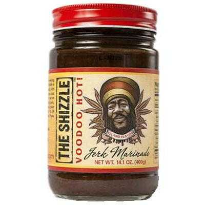 The Shizzle Voo Doo Hot Jerk Sauce and Marinade