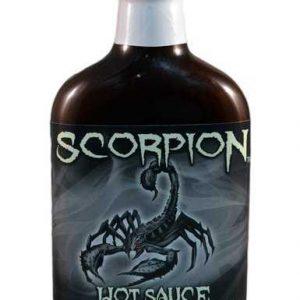 Scorpion hot sauce
