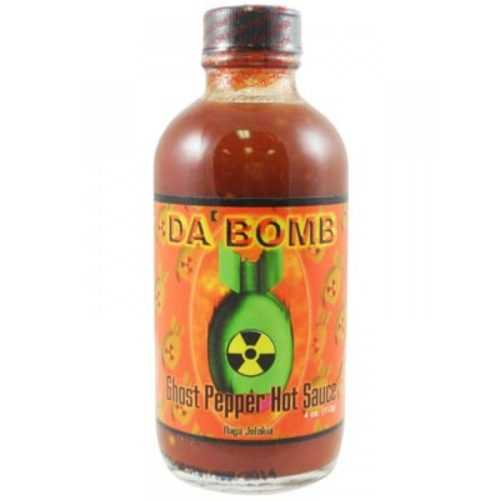 Da bomb Ghost pepper hot sauce