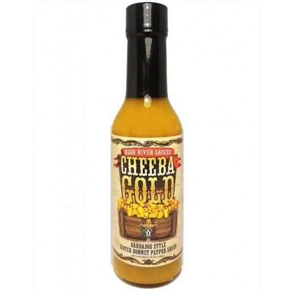 High River Sauces Cheeba Gold Barbados Style Scotch Bonnet