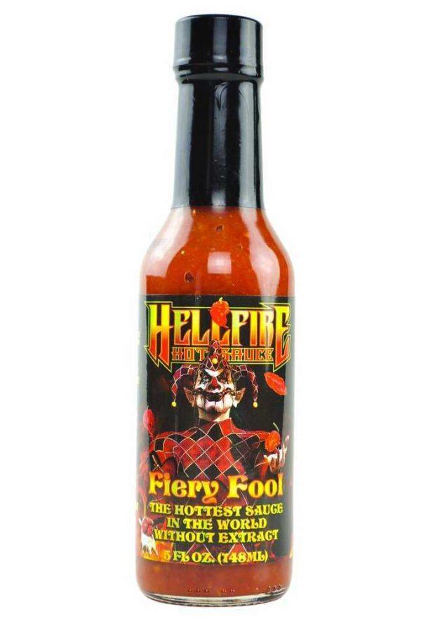 Hellfire Fiery Fool Hot Sauce