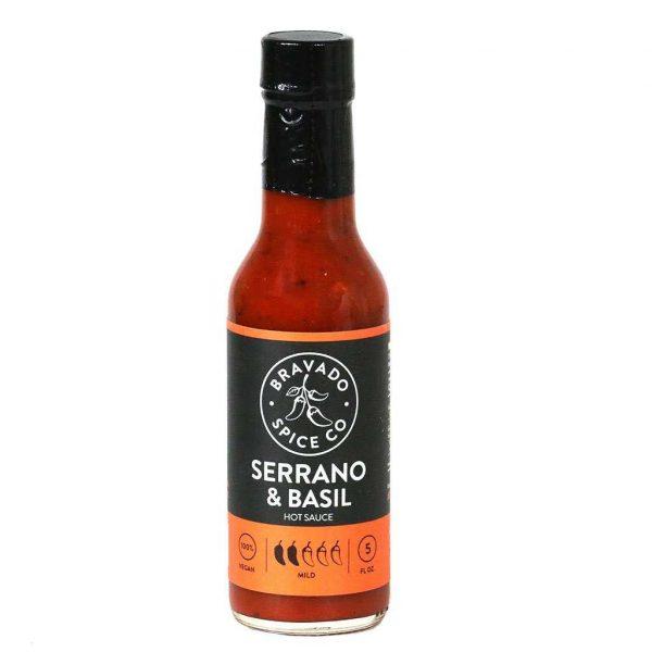 Bravado Spice Serrano Basil Hot Sauce