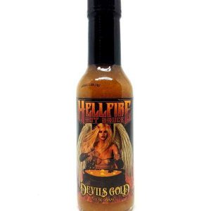 Острый соус Hellfire Devil's Gold Hot Sauce