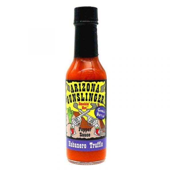 Arizona Gunslinger Habanero Truffle Hot Sauce