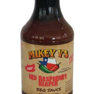 Red Raspberry Reaper BBQ Sauce Mikey V's