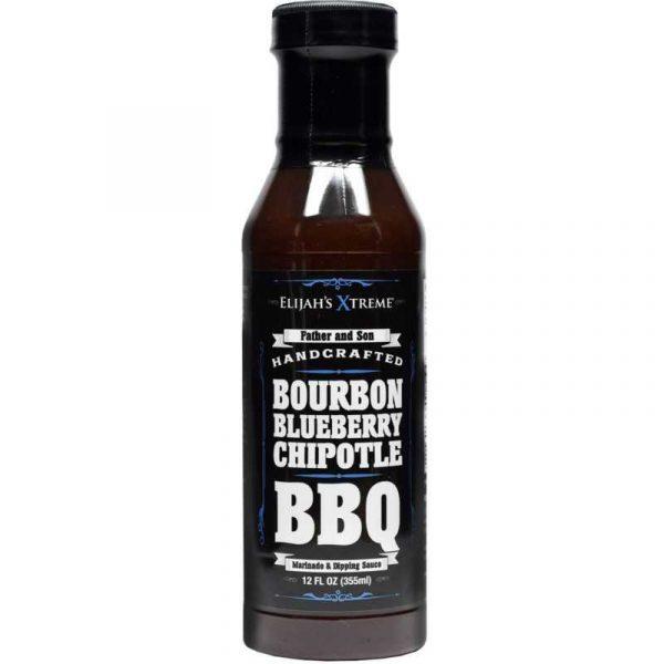 Elijah's Extreme Bourbon Infused Blueberry Chipotle BBQ